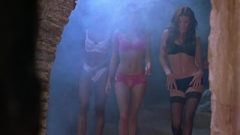 ENF Girls Lose Clothes On Stairs – Scary Movie 2
