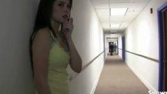 ENF Shy Girl Getting Into Sorority