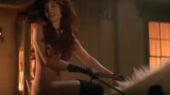 Jenny Wrigth Riding Naked In Young Guns II ENF CMNF