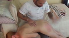 Lizzy Lamb's Little Butt Spanking By Daddy