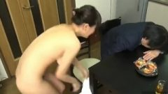 Towel Stripped Off ENF
