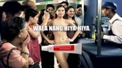 ENF: Filipina Woman Stripped Naked In Public In Commercial