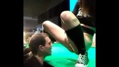 Teen's Awesome Mega Squirting On Public Live Stage
