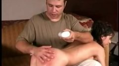18-year-old Cutey Danielle Masturbates After She Is Spanked