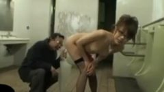 Thai Girl In The Men's Bathroom
