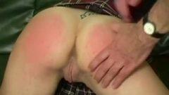 French Lesbian Girls Getting A Spanking
