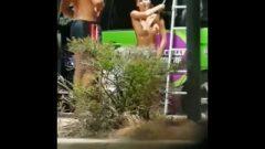 Best Public Nude Voyeur Backpacker Ever! Must See!