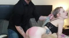 Caught Wanking And Spanked By Perfect Roommate
