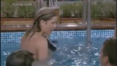 Kate Lawler & Jade Goody Naked In The Pool (RIP Jade Goody