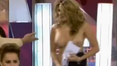 Spanish Host Is Stripped Nude On Tv! Enf + Humiliation (maria Lapiedra)