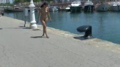 Horny Nubile Jessy Naked In Barcelona