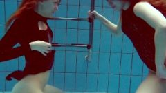 Diana & Simonna Two Oustanding Teenagers In The Pool