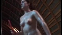 Oiled Table Tennis Naked