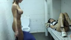 Two Chick Inmates Meet Each Others
