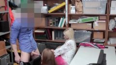 Slutty Nubile Thief Ruined By Officer As Mom Watches On